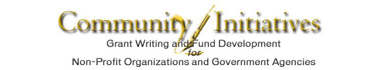 Community Initiatives - Grant Writing for Non-Profit Organizations